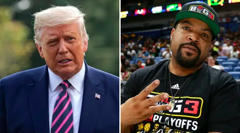 Donald Trump and Ice Cube