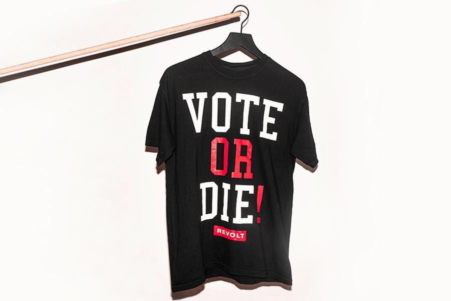 Vote or Die shirts