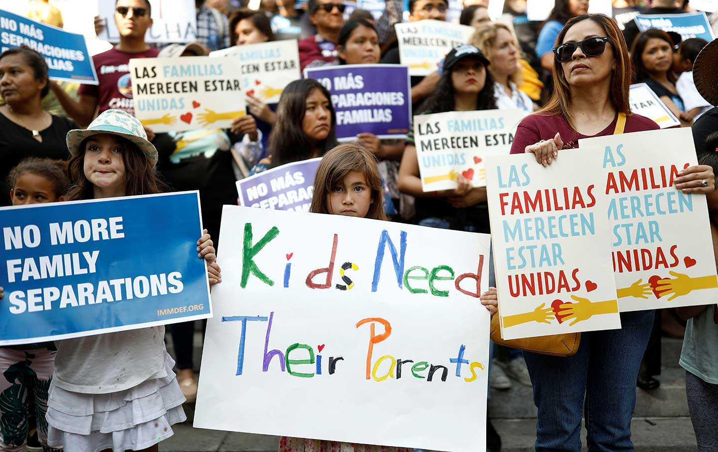 protest against separated immigrant families