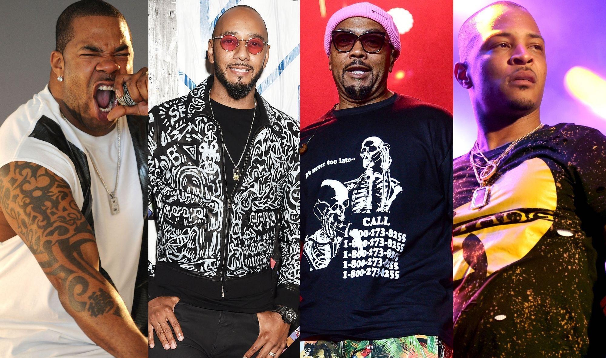 Swizz Beatz, Timbaland, Busta Rhymes, T.I.