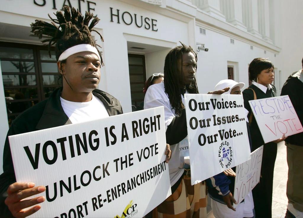 Black voter disenfranchisement