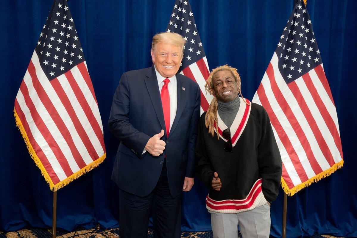 Lil Wayne and Donald Trump