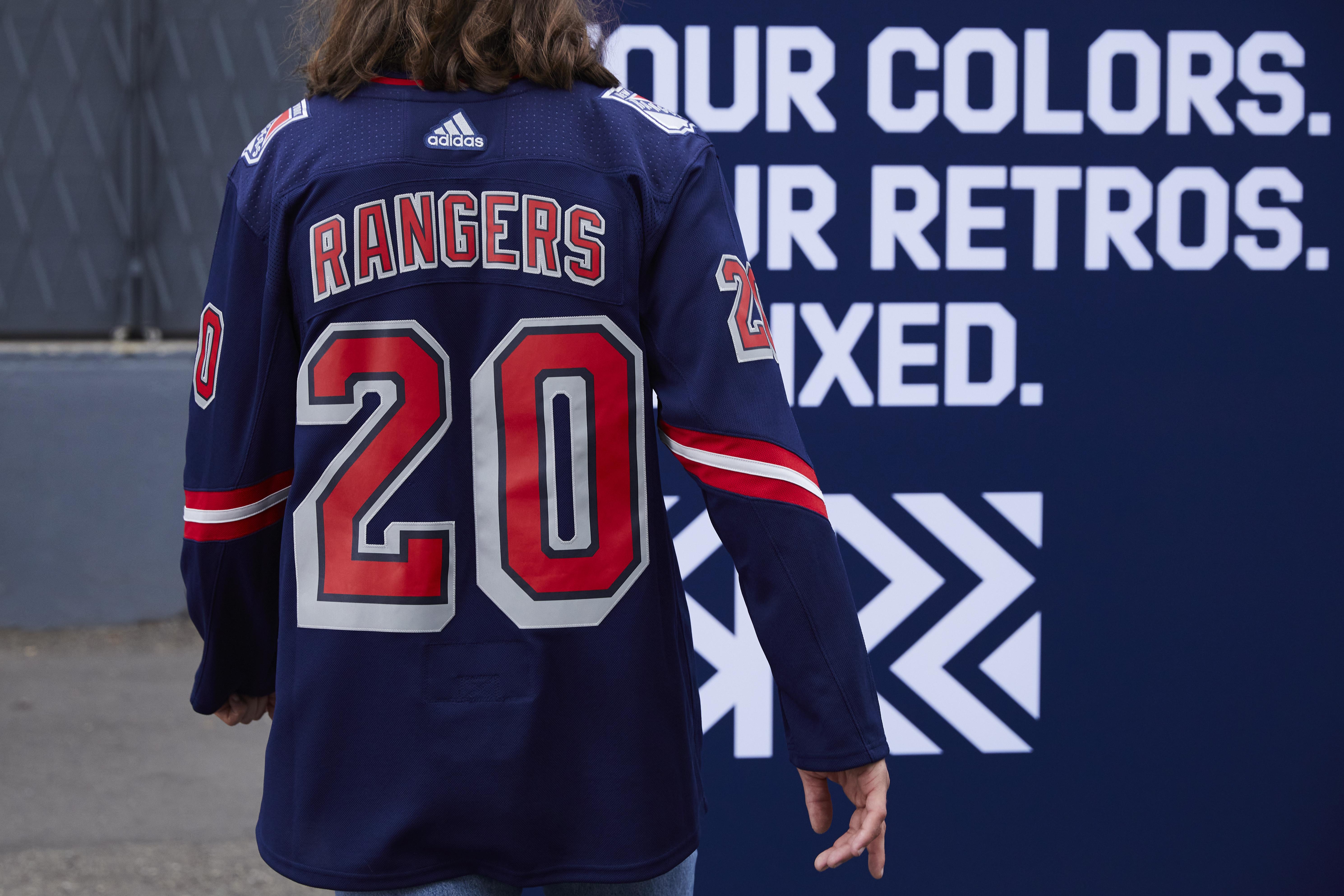 Adidas Reverse Retro: New York Rangers unveil Lady Liberty jersey ...