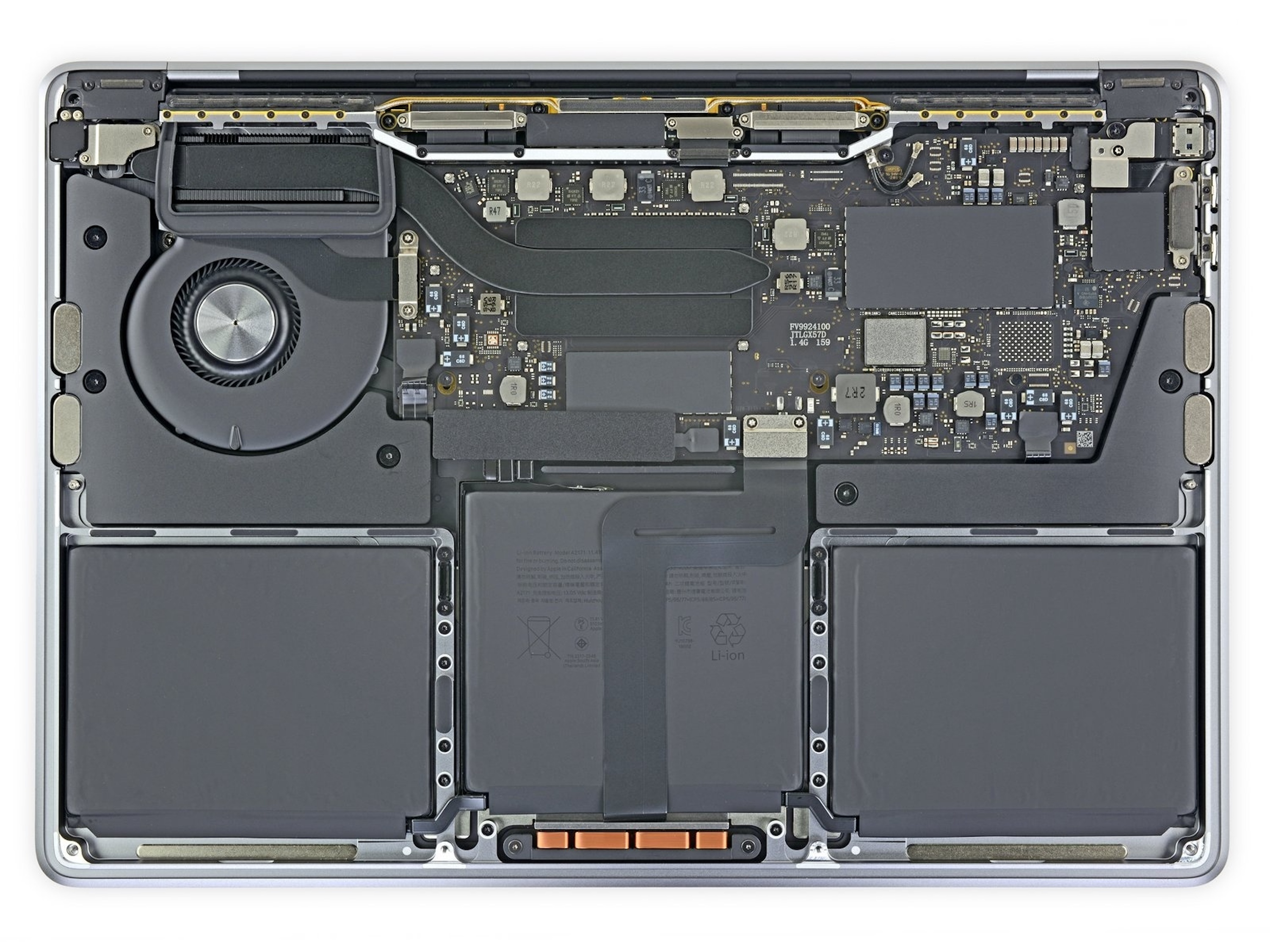 iFixit teardown shows just how similar the new M1 MacBooks are