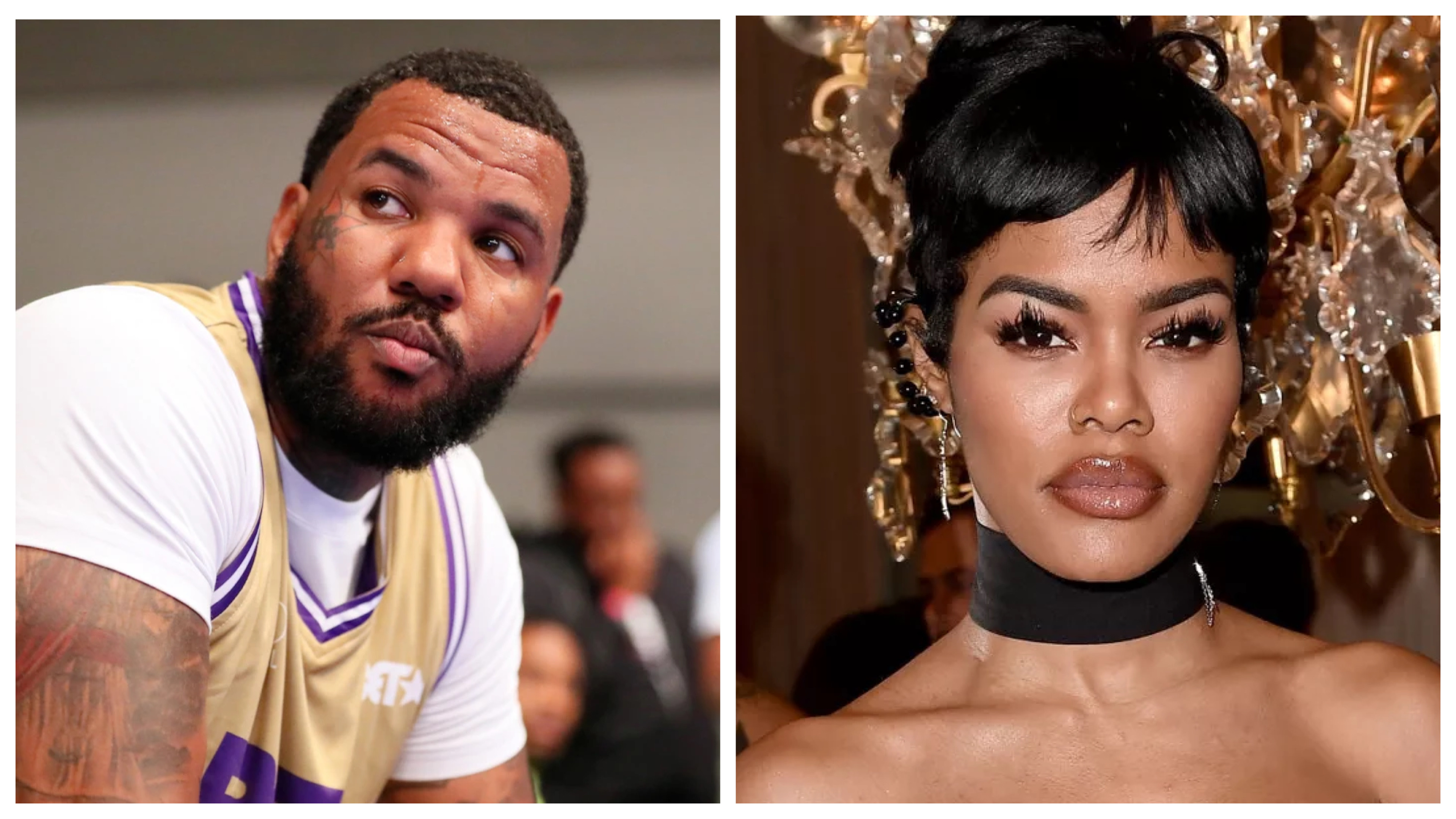 The Game and Teyana Taylor