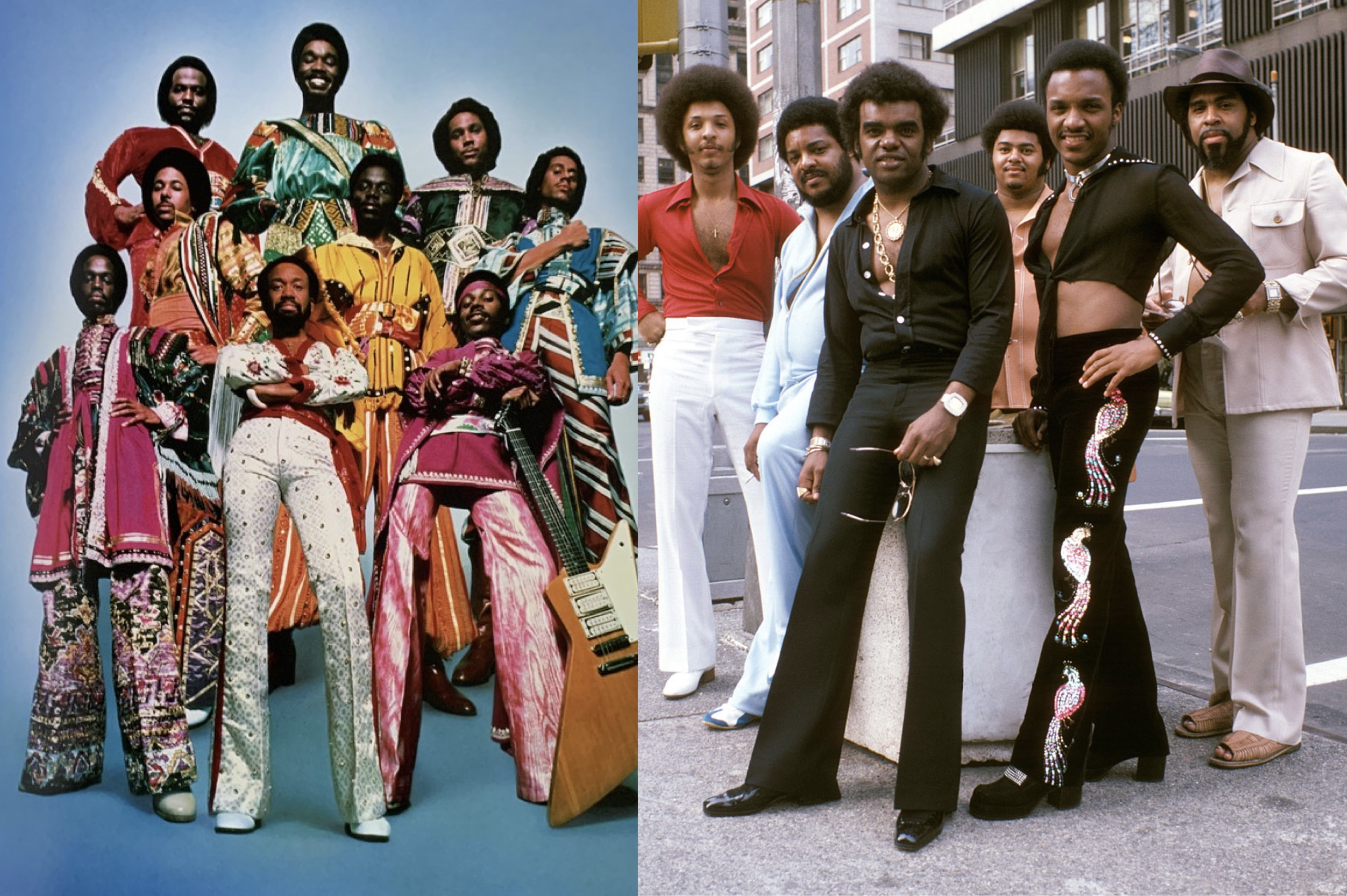 Earth, Wind & Fire and The Isley Brothers