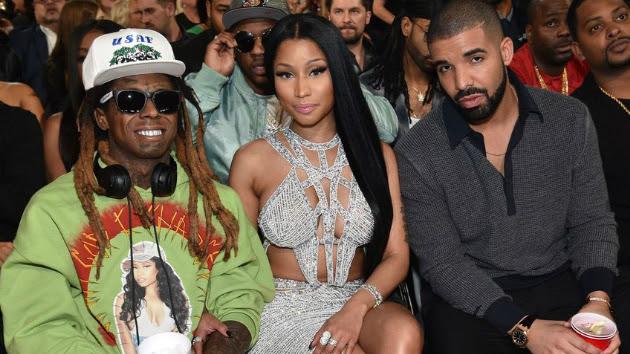 Lil Wayne, Drake Nicki Minaj
