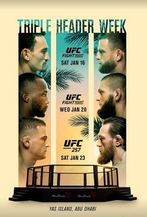 UFC releases its full schedule for Fight lsland 2021 - UFC