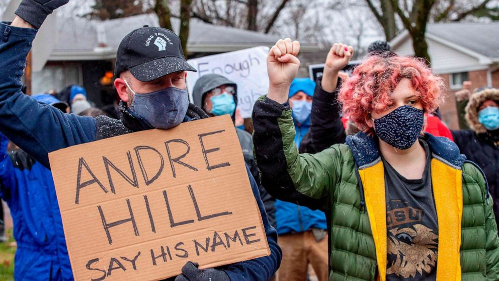 Andre Hill protest