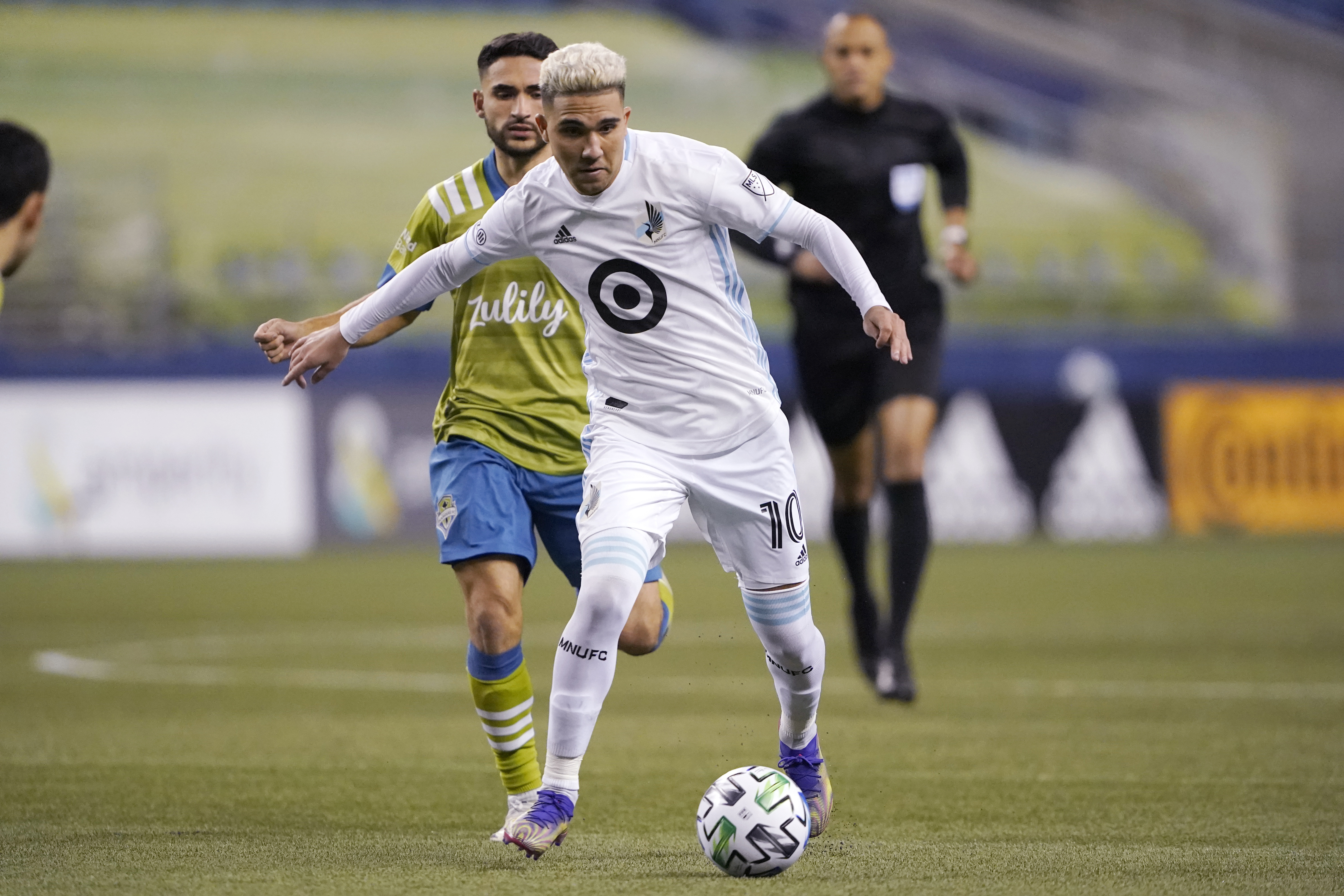 Minnesota United midfielder Emanuel Reynoso showed in a short amount of time that he is a player Loons fans can look forward to building around.