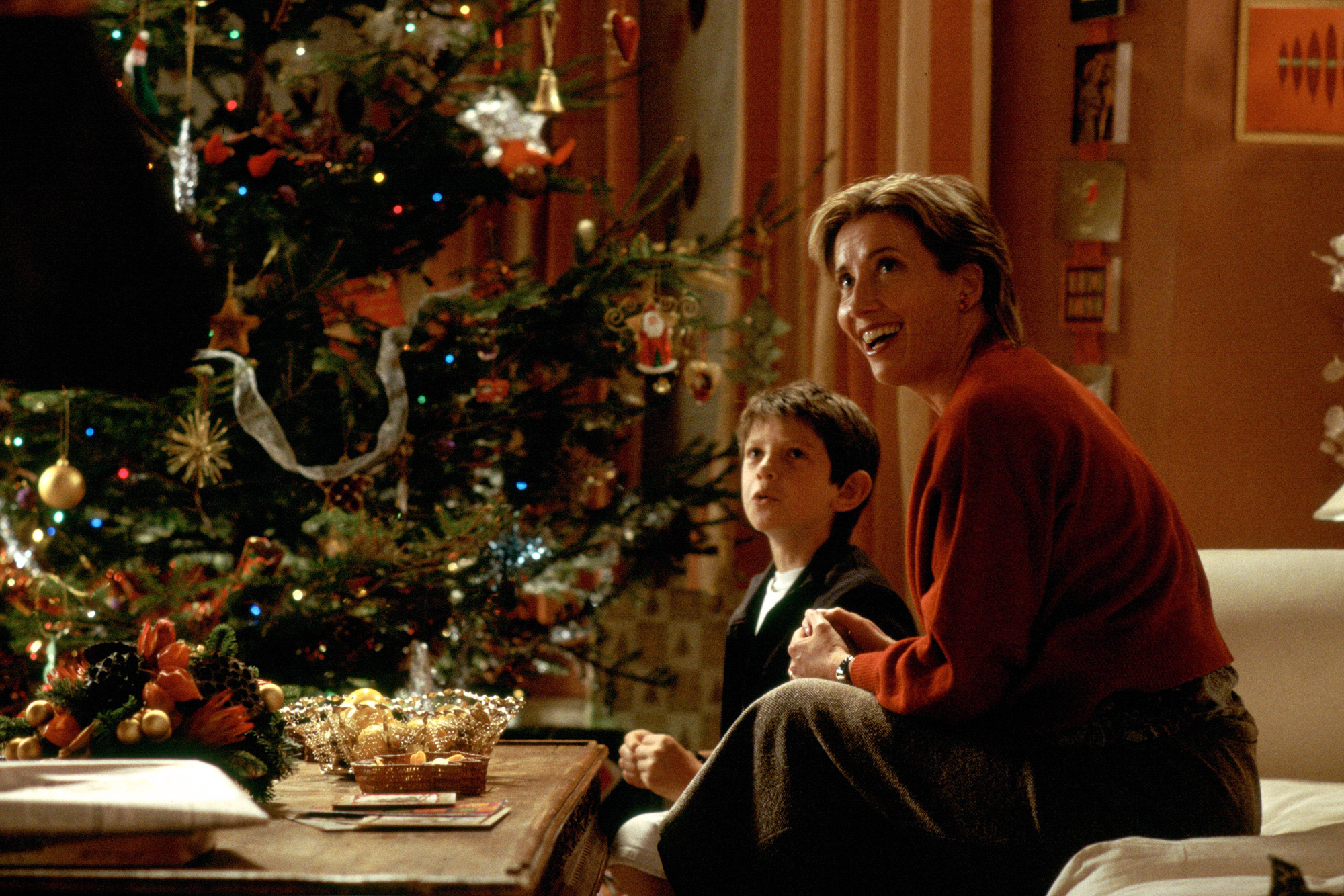 William Wadham and Emma Thompson in 'Love Actually.'