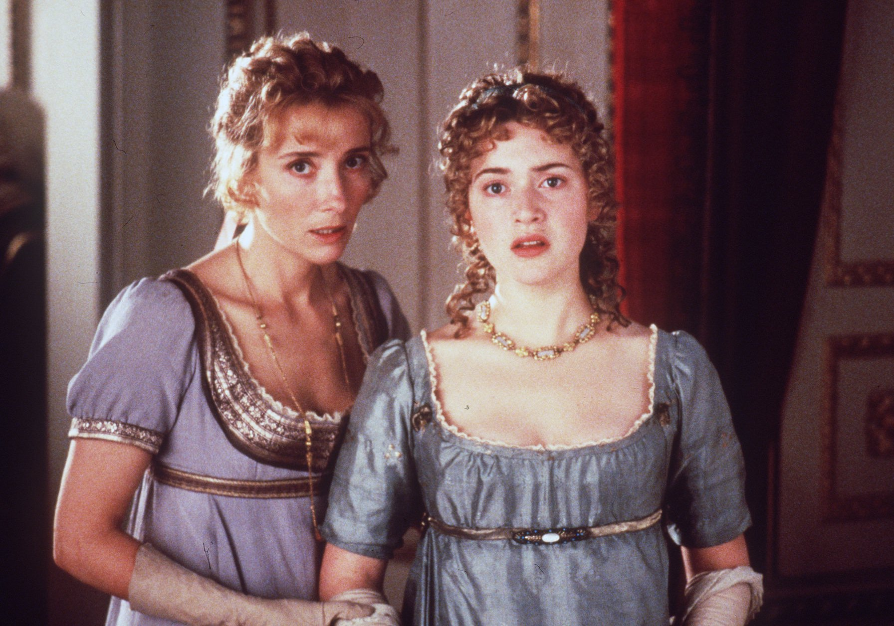 Emma Thompson and Kate Winslet in 'Sense and Sensibility.'