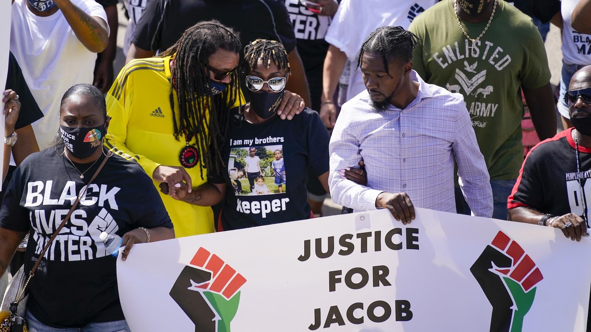 Jacob Blake protesters
