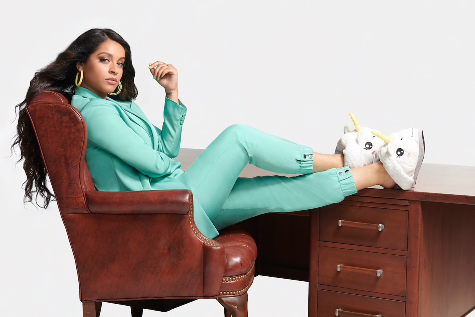 Lilly Singh in 'A Little Late With Lilly Singh.'