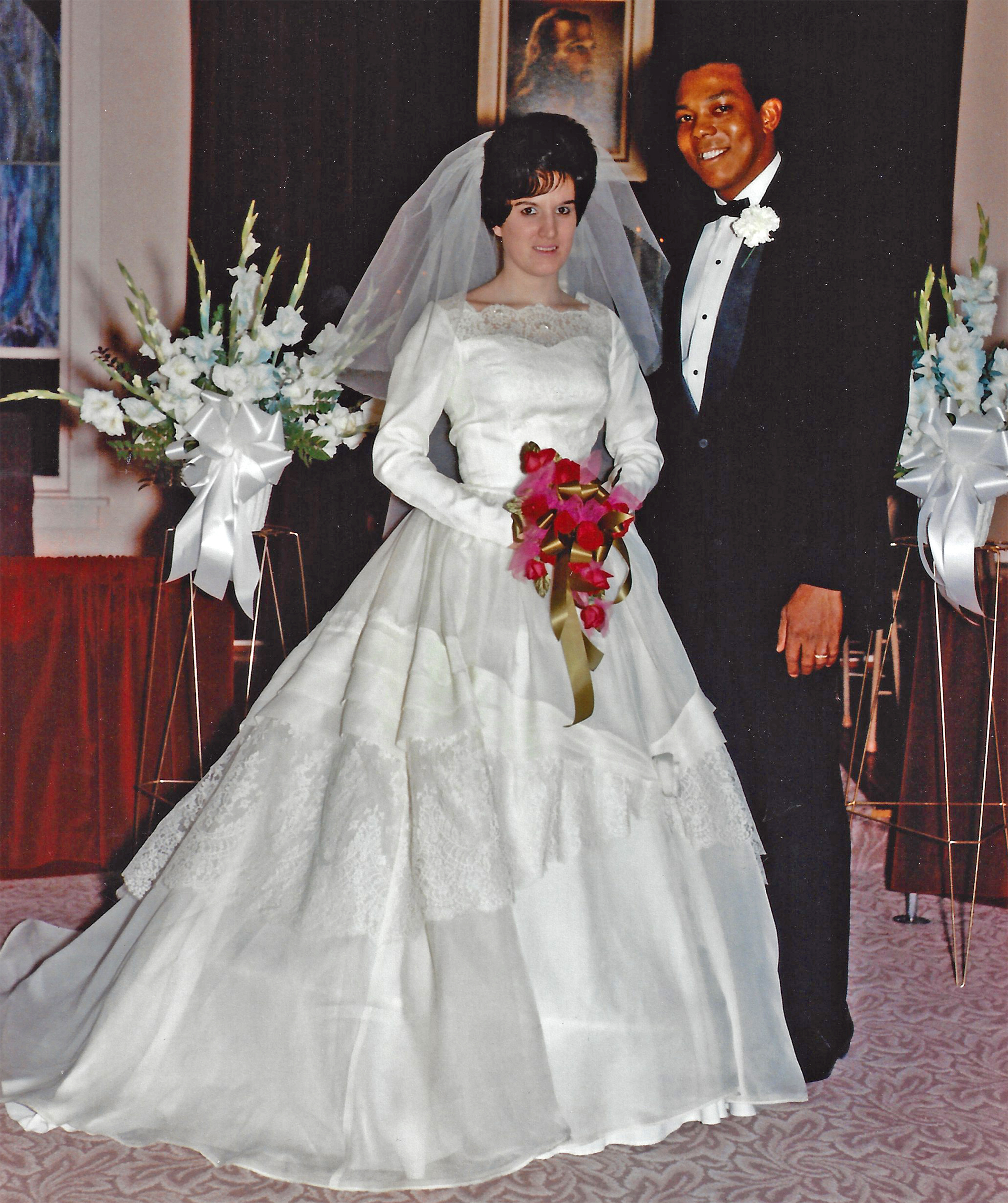 "Tony and Gordette Oliva's wedding photo captures a young Cuban-born major leaguer on the day he exchanged vows in his bride's hometown of Hitchcock, S.D., where the ever-popular and outgoing former Twin Oliva said he became a ""king."""