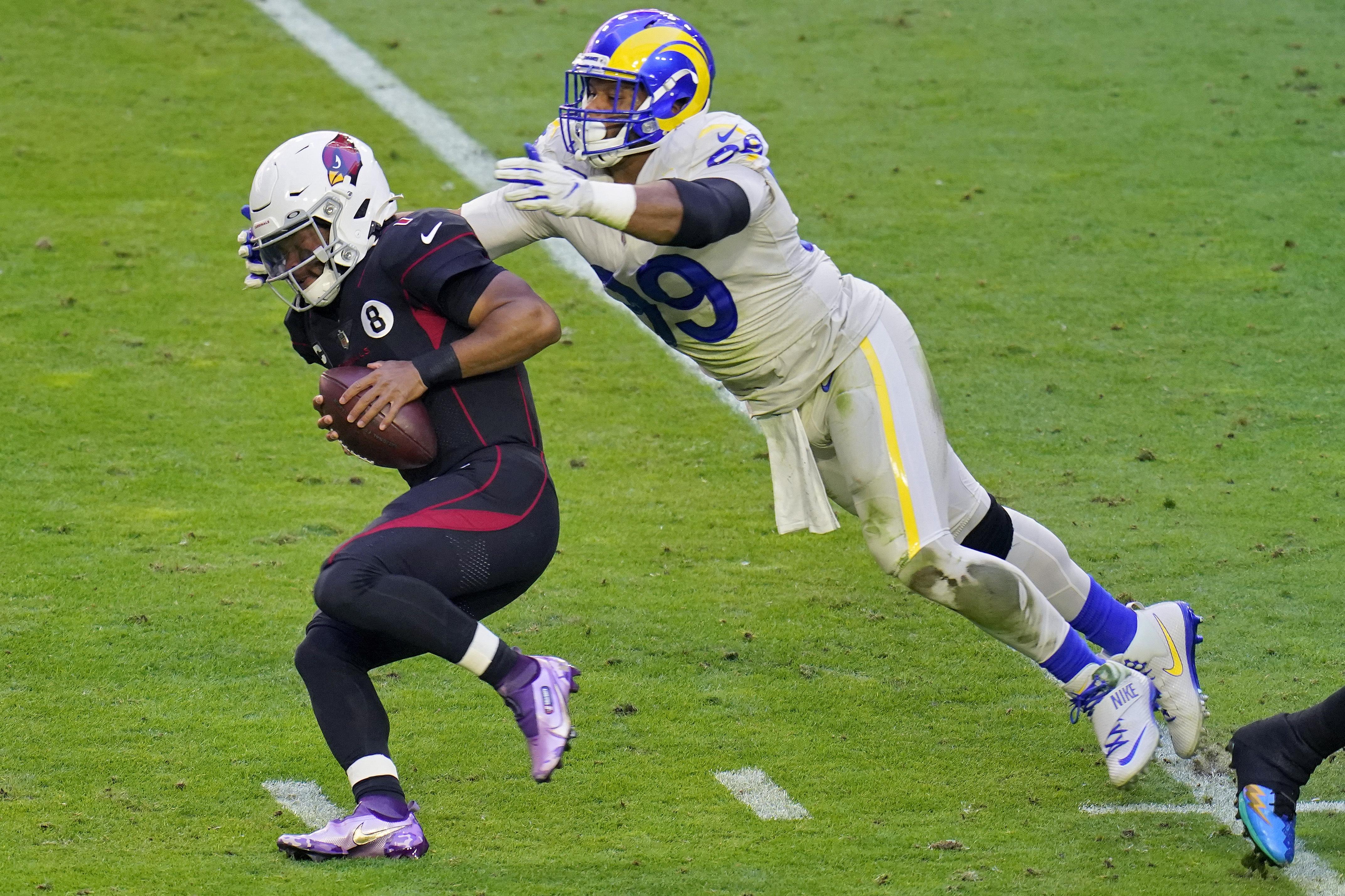 Rams defensive end Aaron Donald