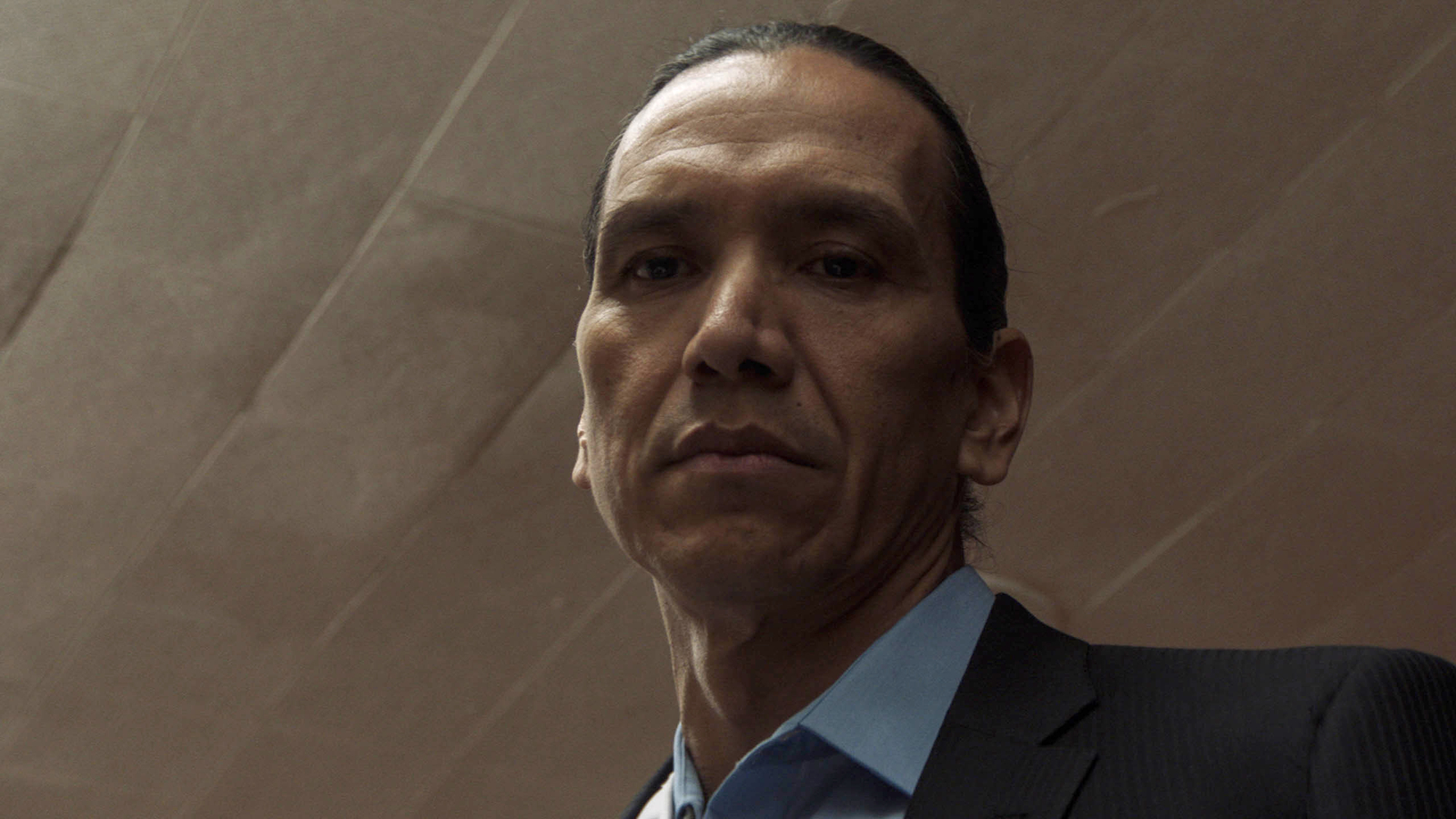 Michael Greyeyes appears in 'Wild Indian.'