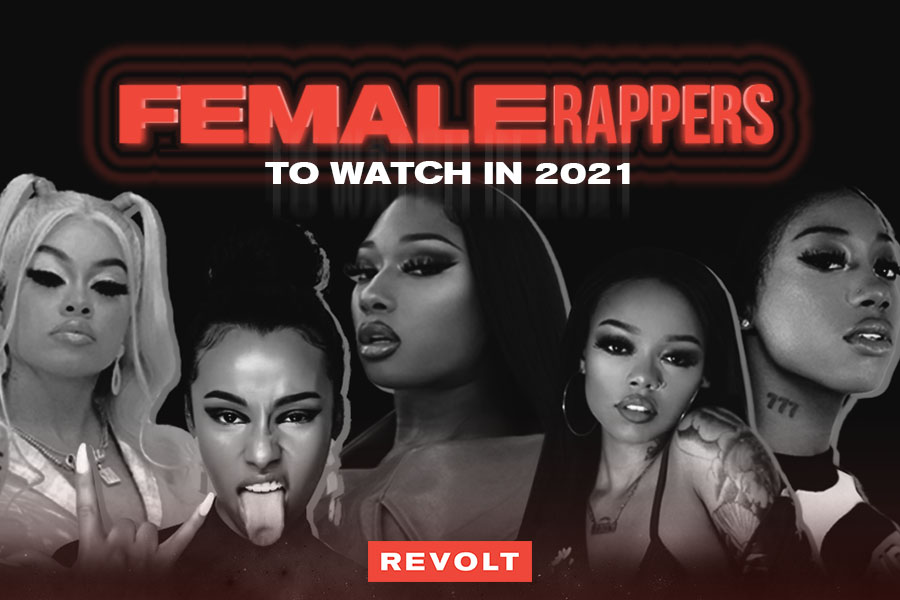 11 Female rappers in 202