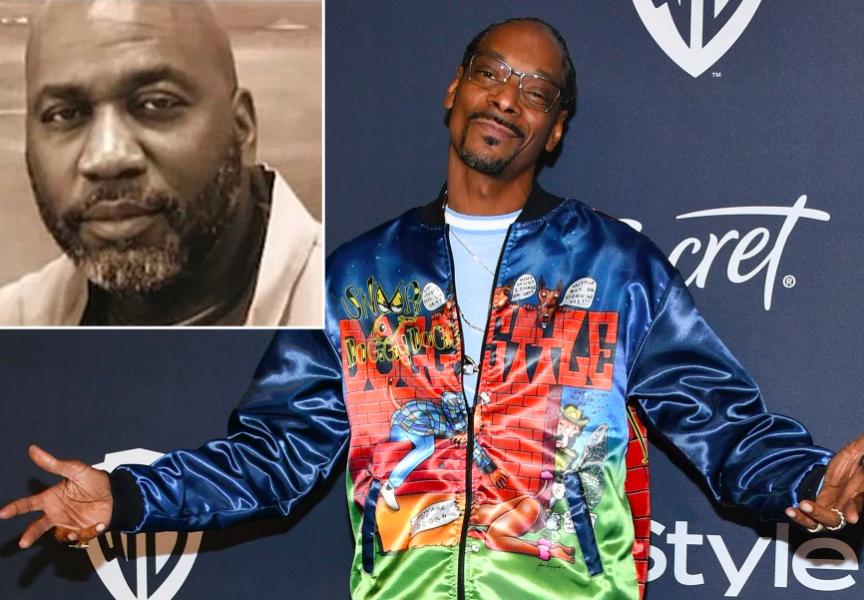 Michael Harris and Snoop Dogg