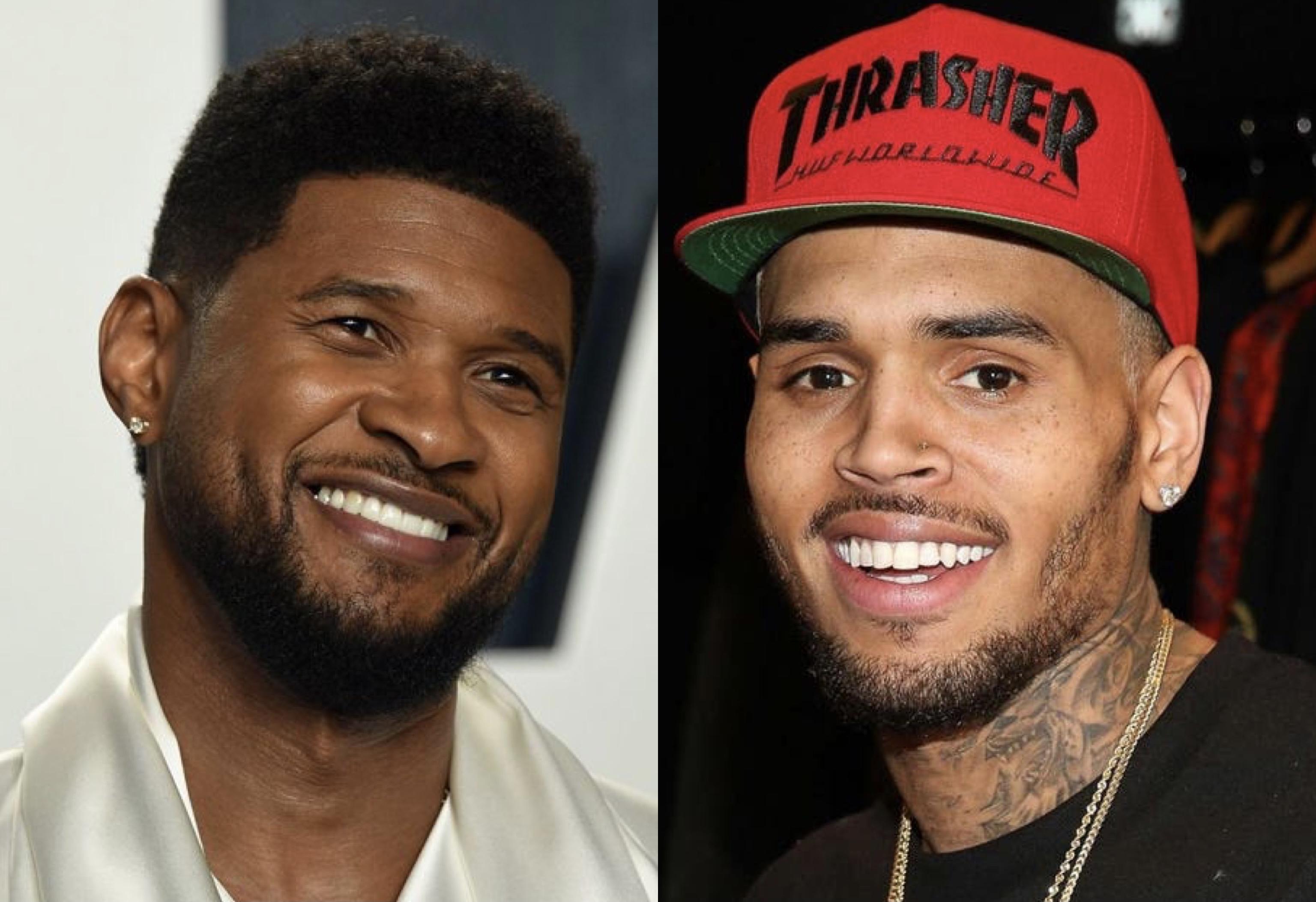 Usher, Chris Brown