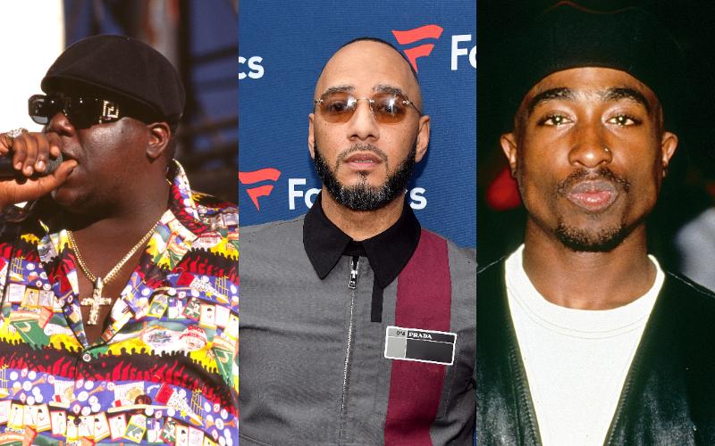 The Notorious B.I.G., Swizz Beatz, and Tupac