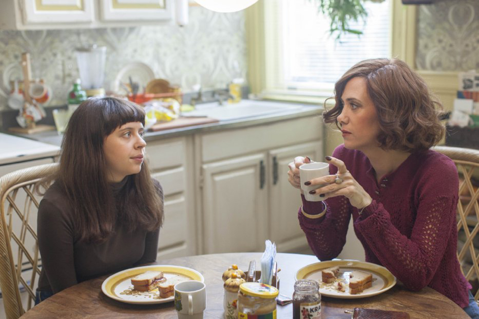 Kristen Wiig, right, and Bel Powley in 'The Diary of a Teenage Girl.'