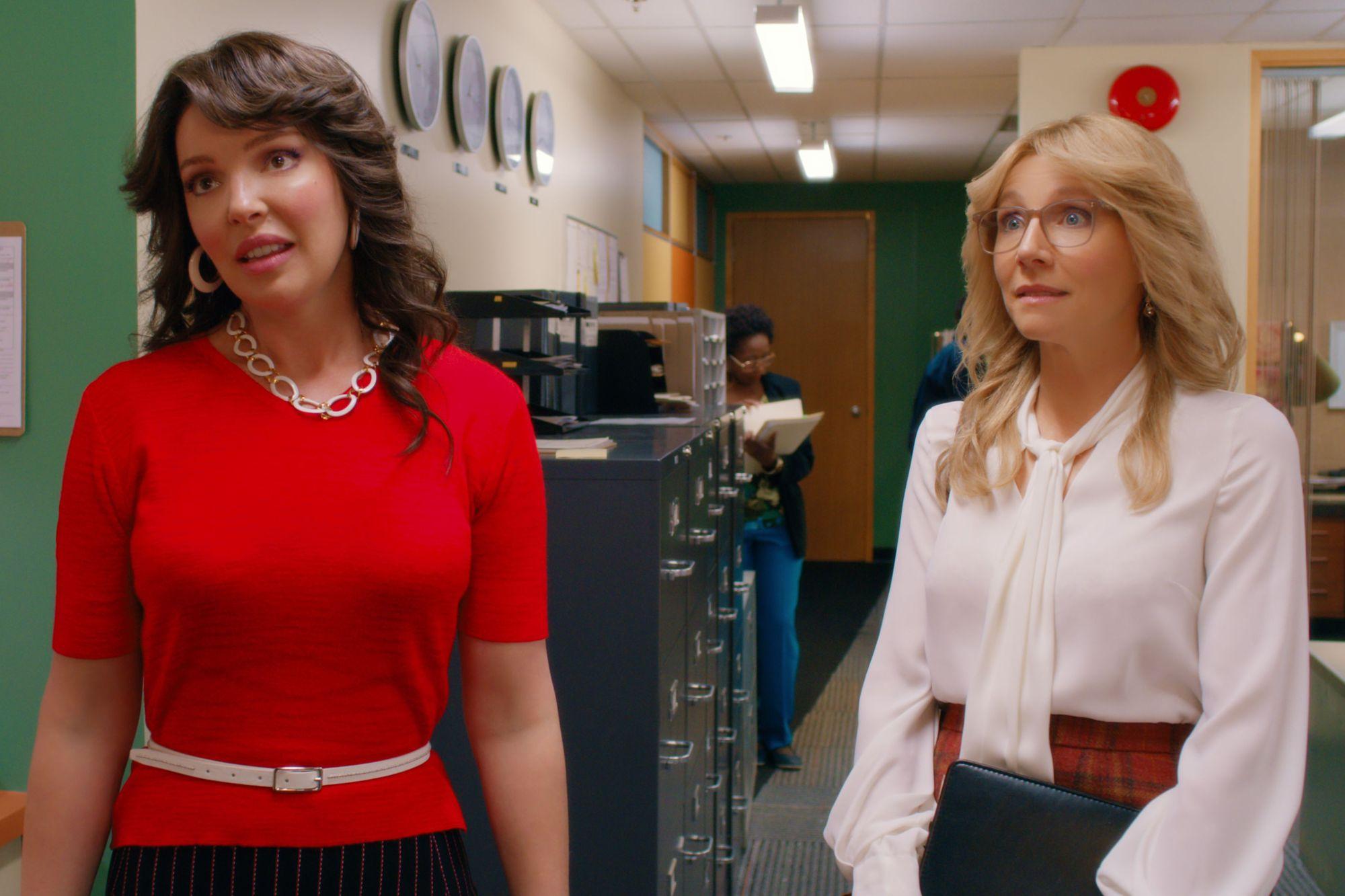 Katherine Heigl and Sarah Chalke in 'Firefly Lane.'