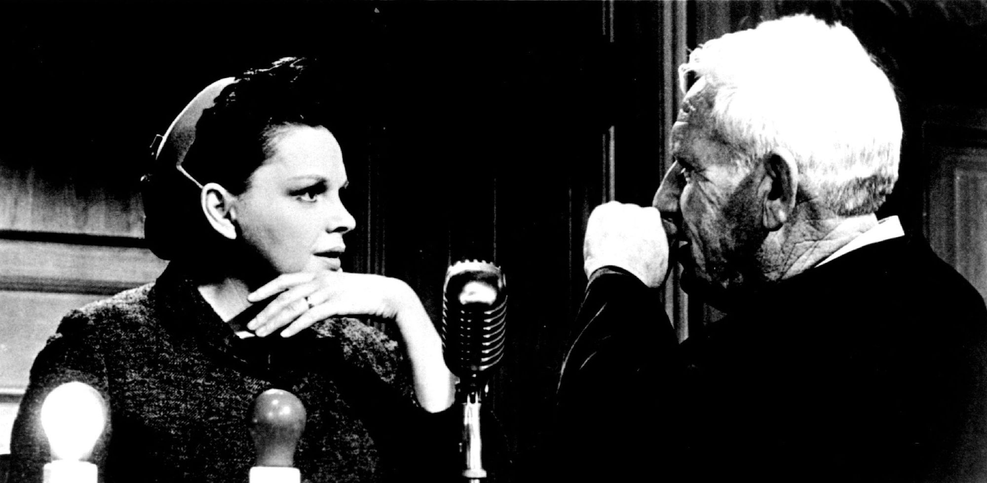 Judy Garland and Spencer Tracy in 'Judgment at Nuremberg.'