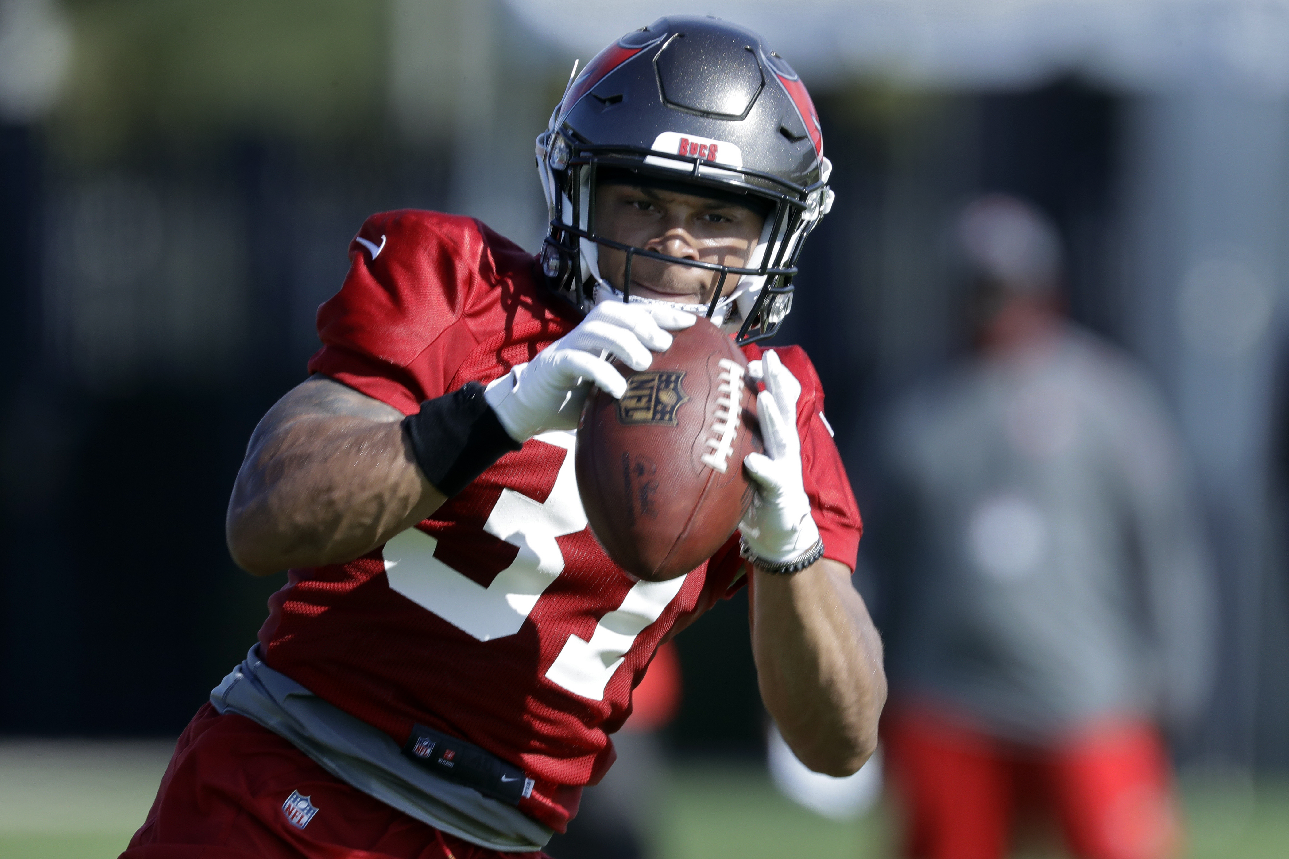Antoine Winfield Jr. during training camp.