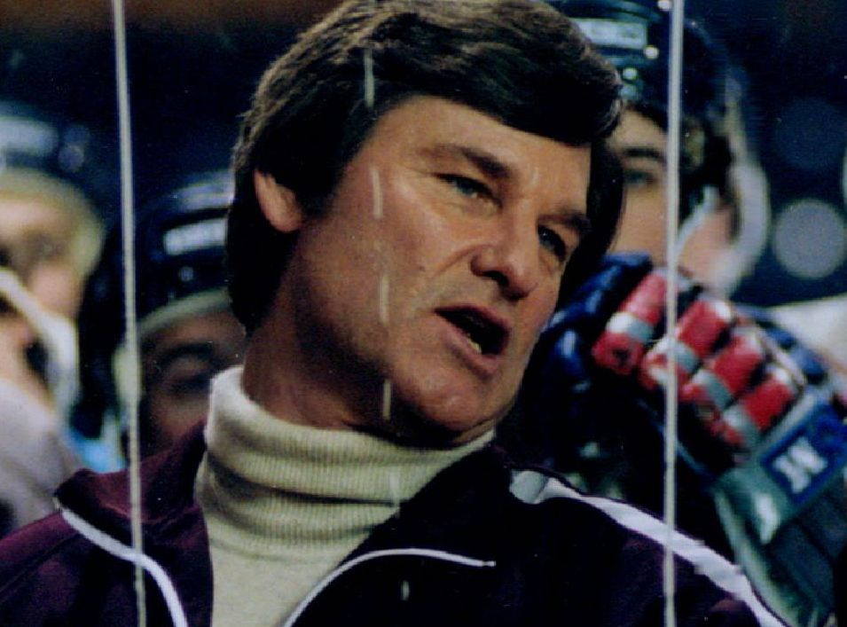 Kurt Russell channels Herb Brooks in 'Miracle.'