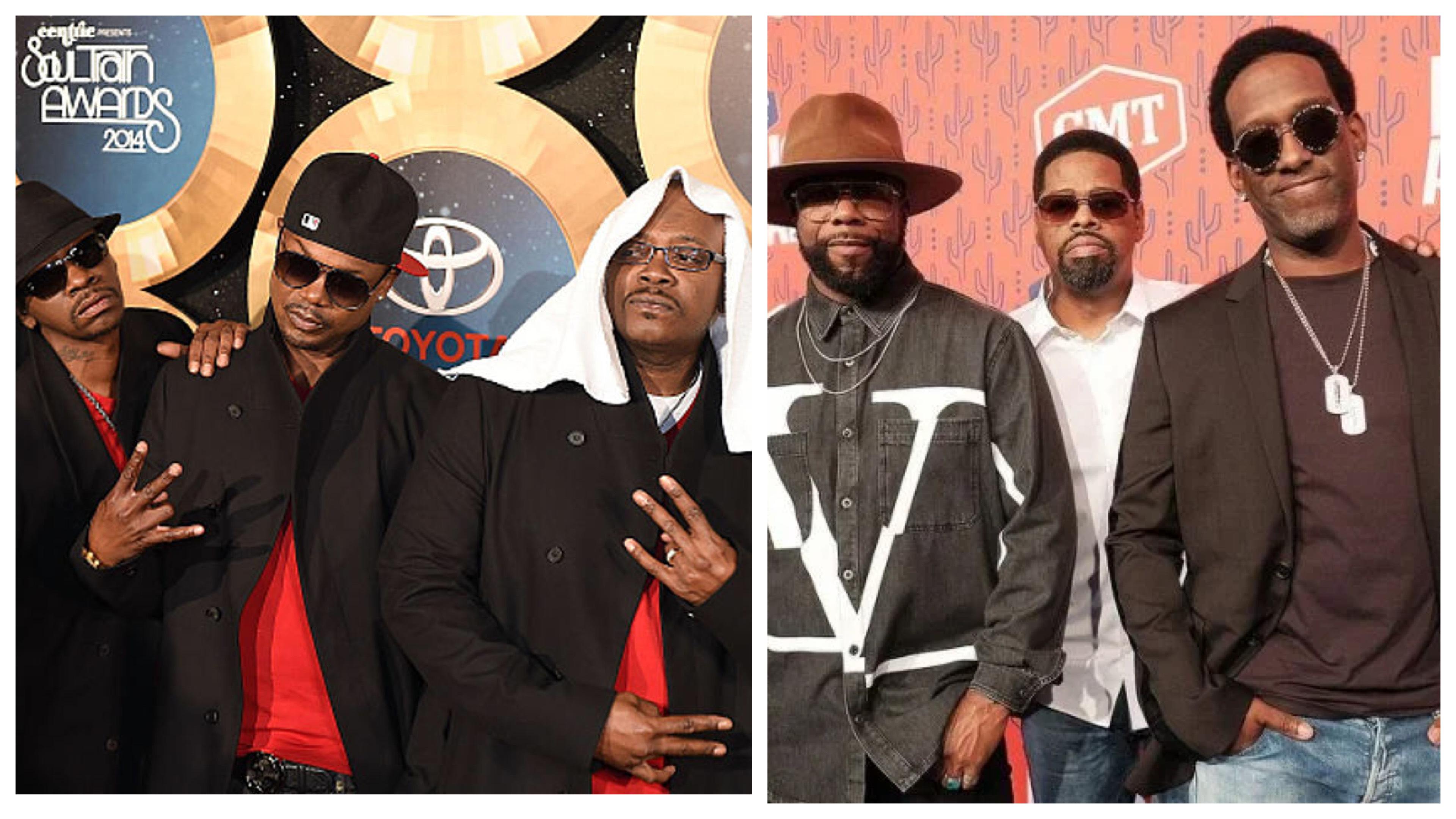 Jodeci and Boyz II Men
