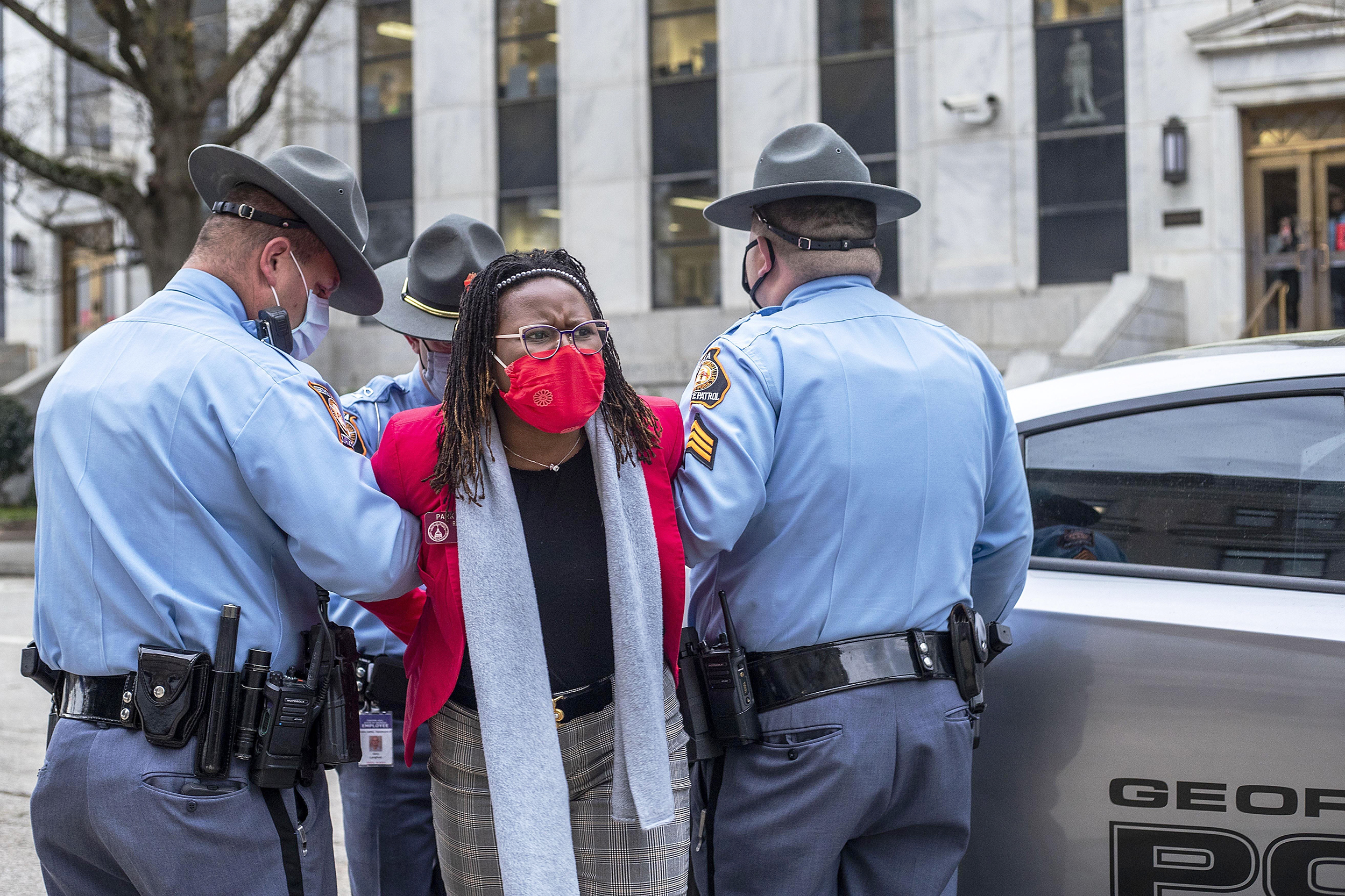 Rep. Park Cannon arrested and charged
