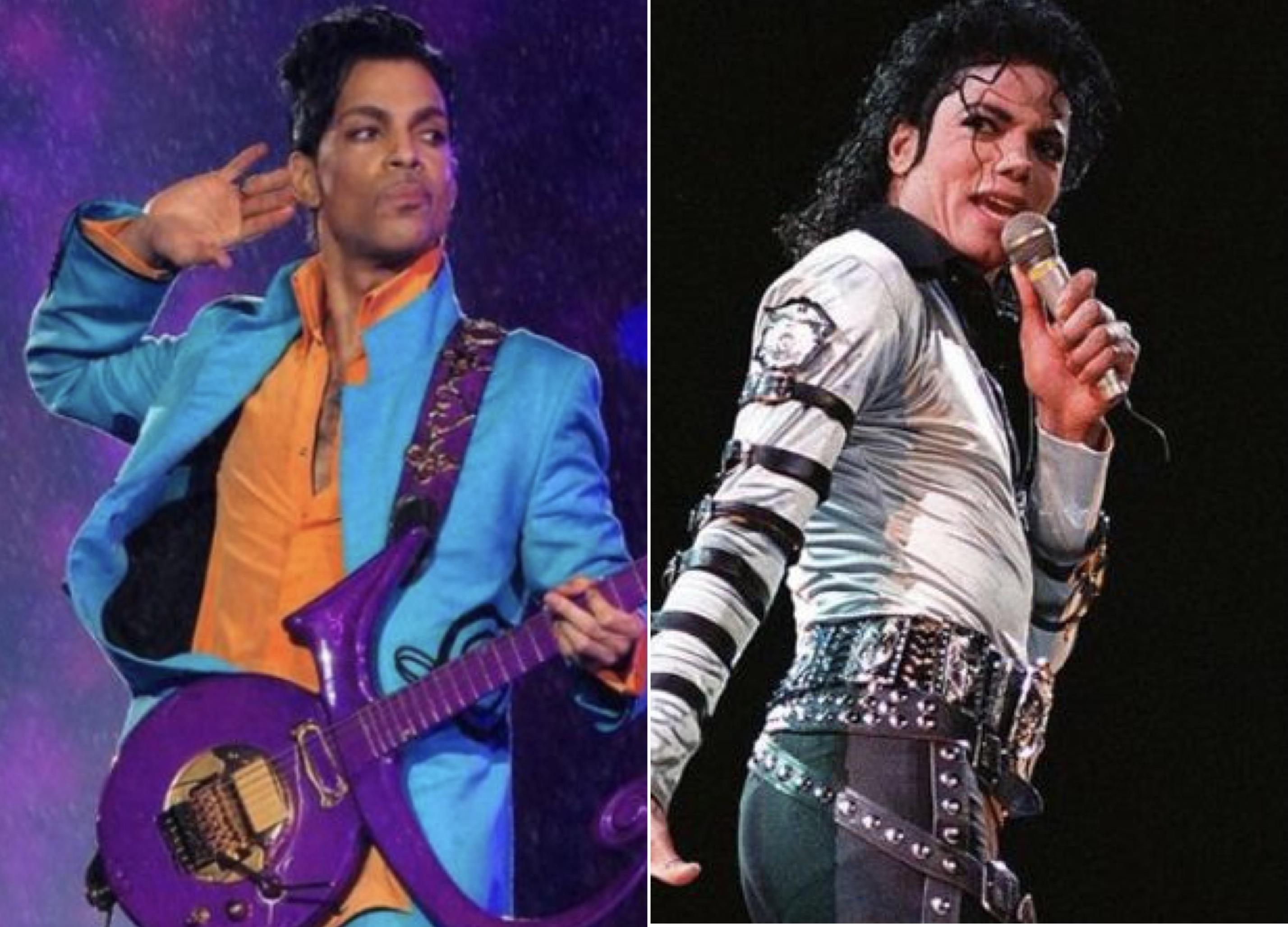 Prince, Michael Jackson
