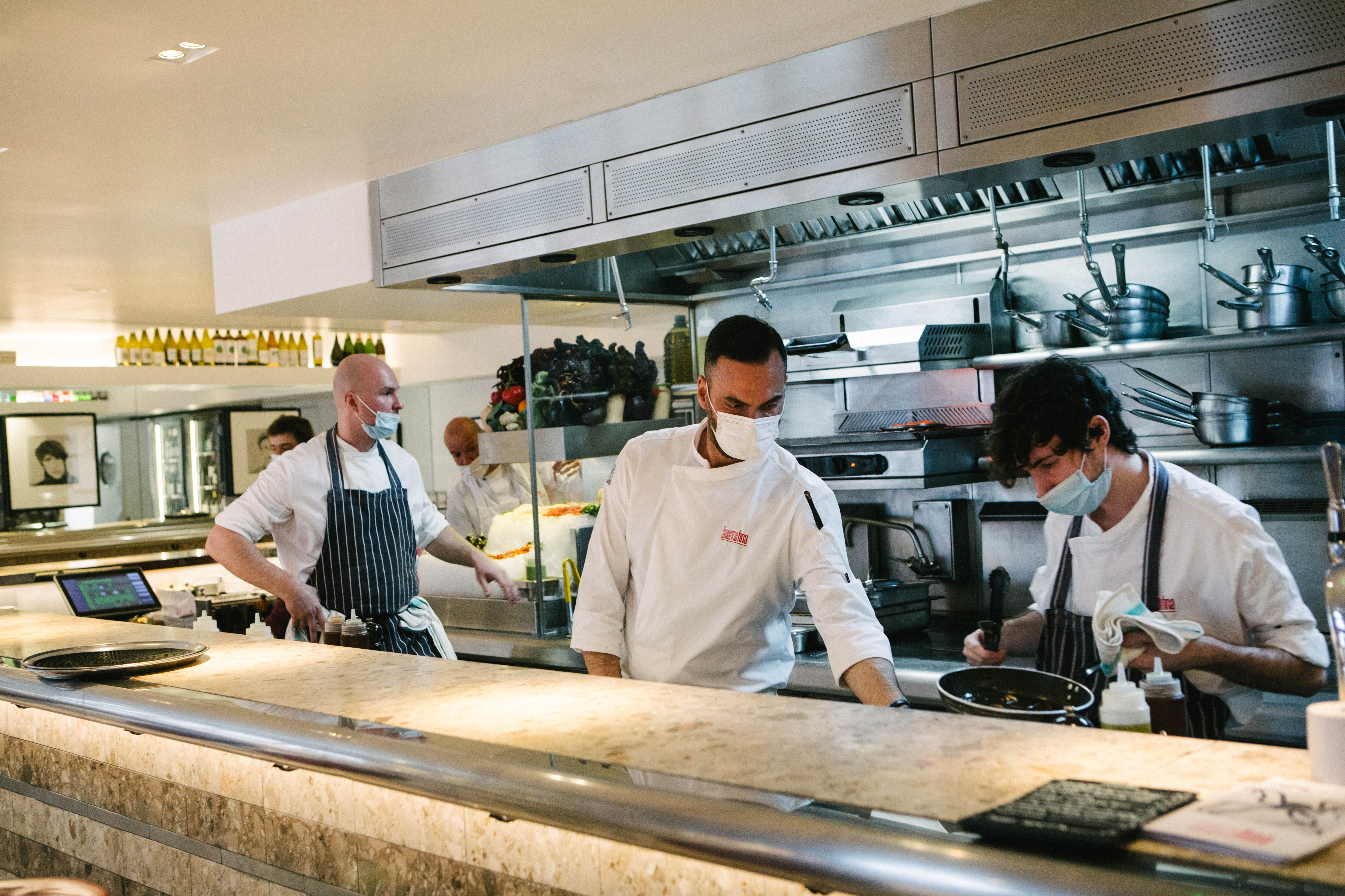 Barrafina, a Michelin-starred restaurant in Soho, will be open for dishes like ham croquetas, pig's trotter and prawns