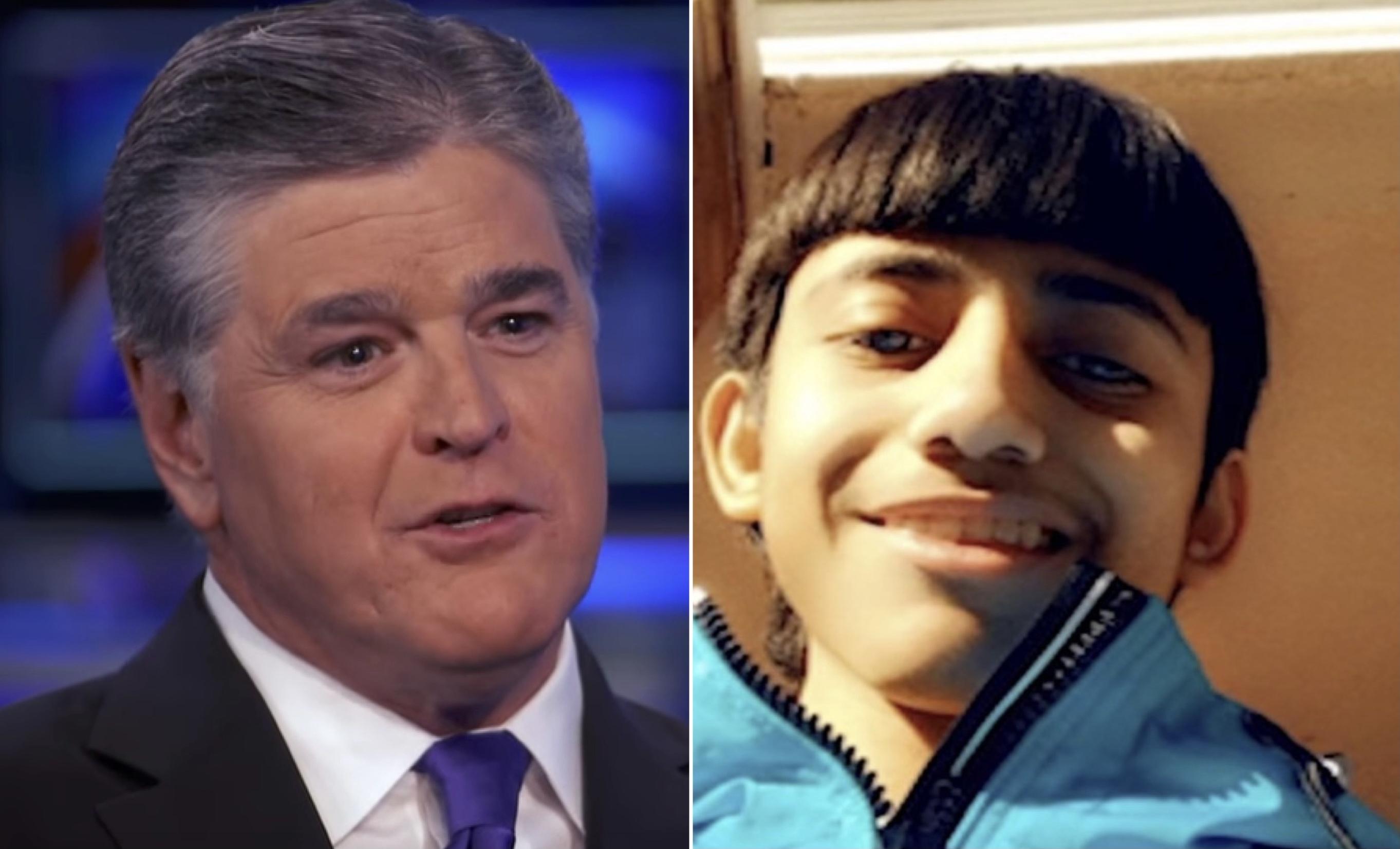 Sean Hannity and Adam Toledo