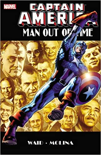 Captain America Man Out of Time Cover