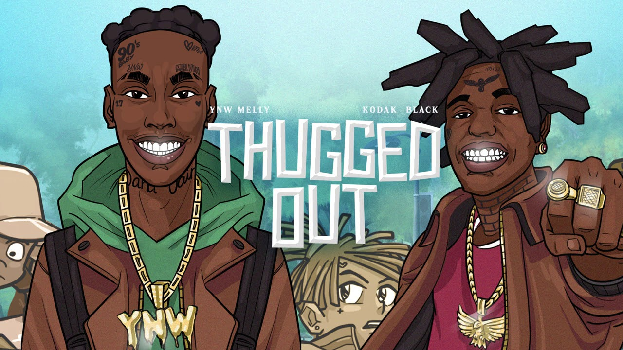 """YNW Melly's """"Thugged Out"""" artwork"""