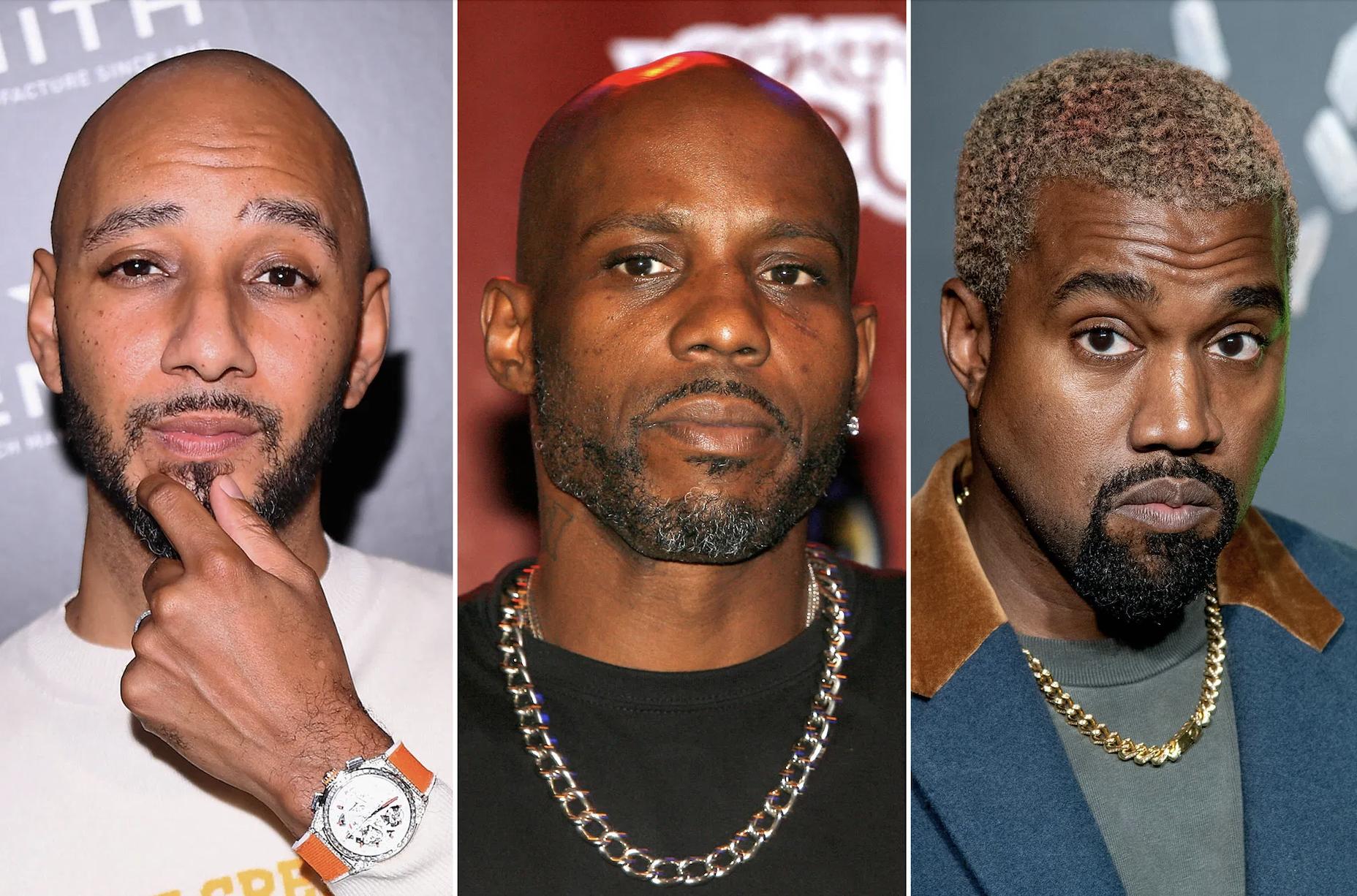 Kanye West, Swizz Beatz, DMX