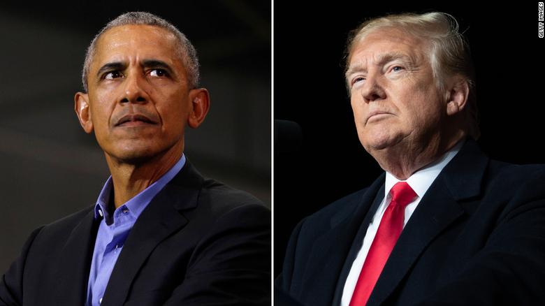 Barack Obama, Trump