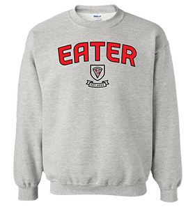 picture of an Eater sweatshirt