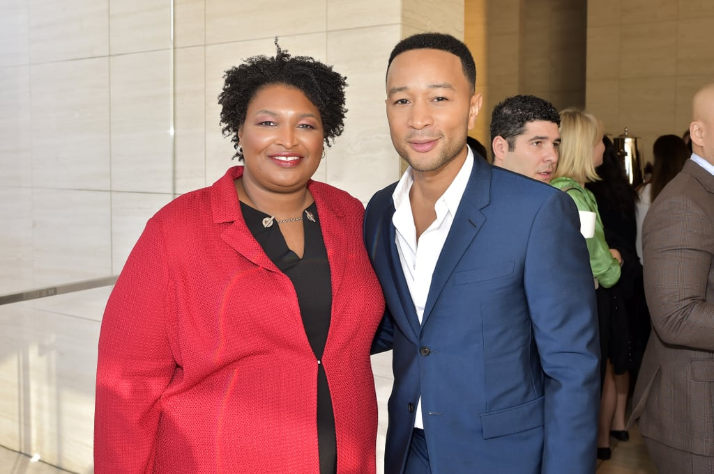 John Legend and Stacey Abrams