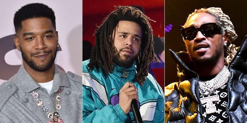 J. Cole, Kid Cudi, Future