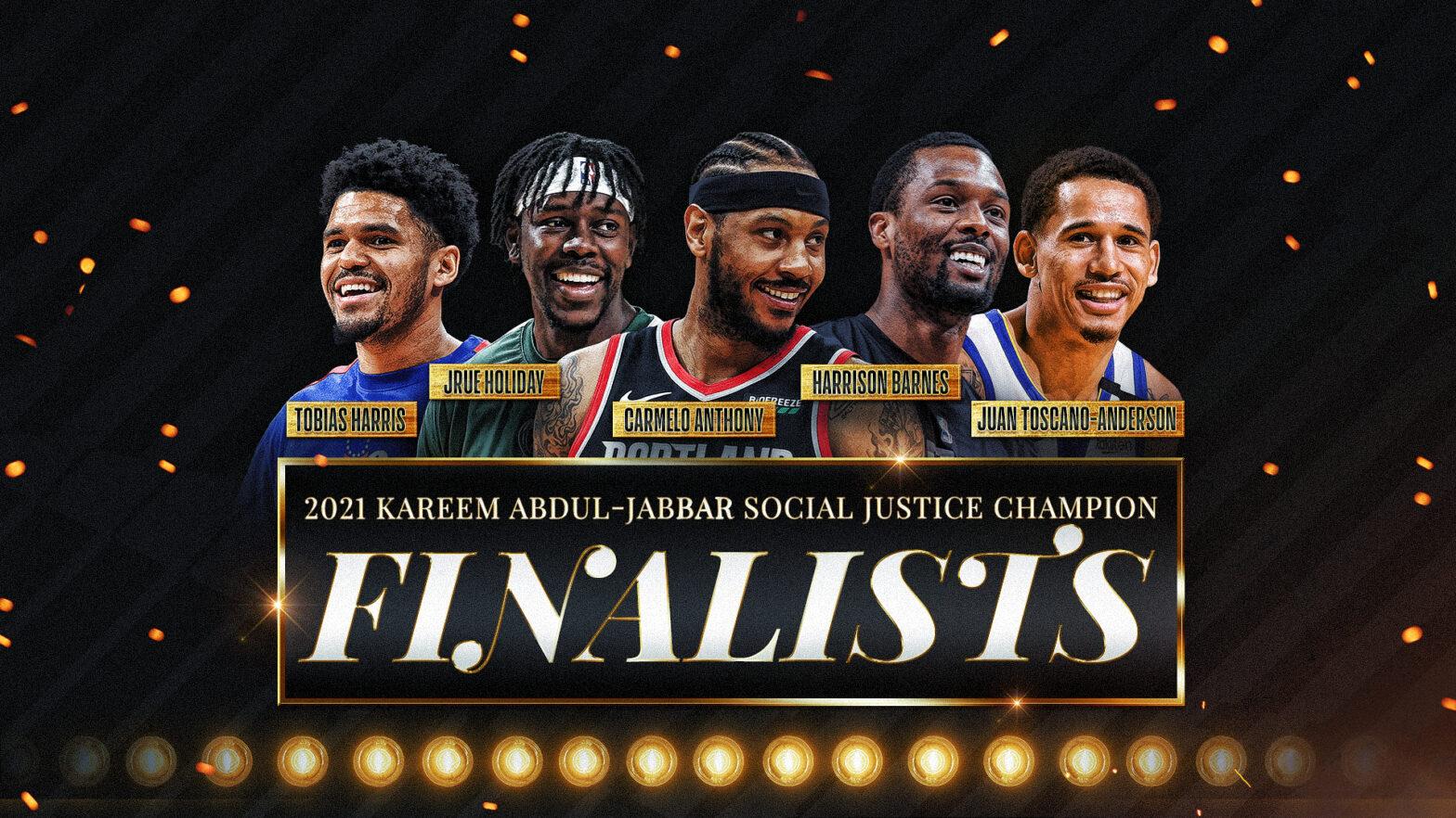 NBA social justice award