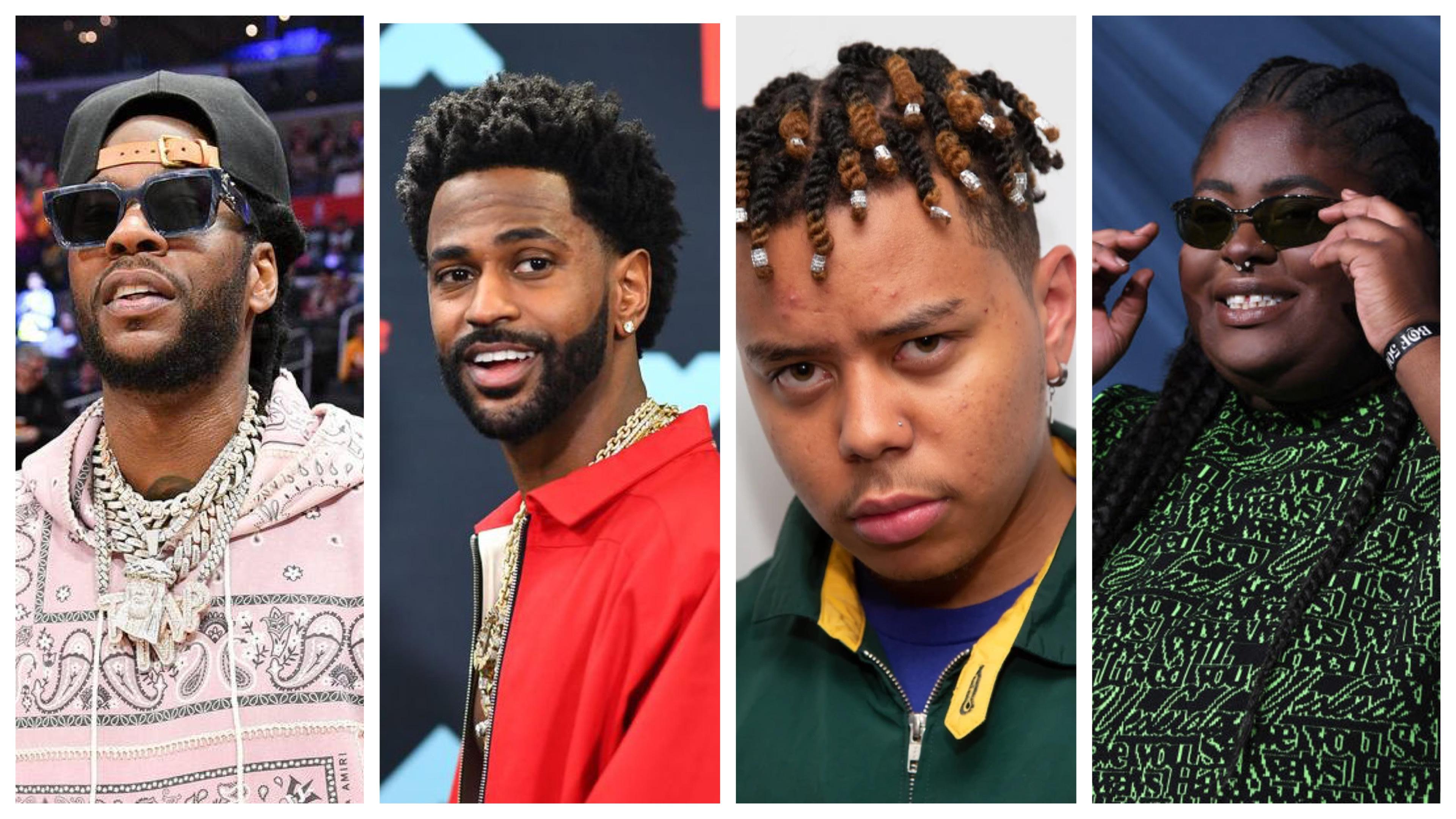 2 Chainz, Big Sean, Cordae, CHIKA
