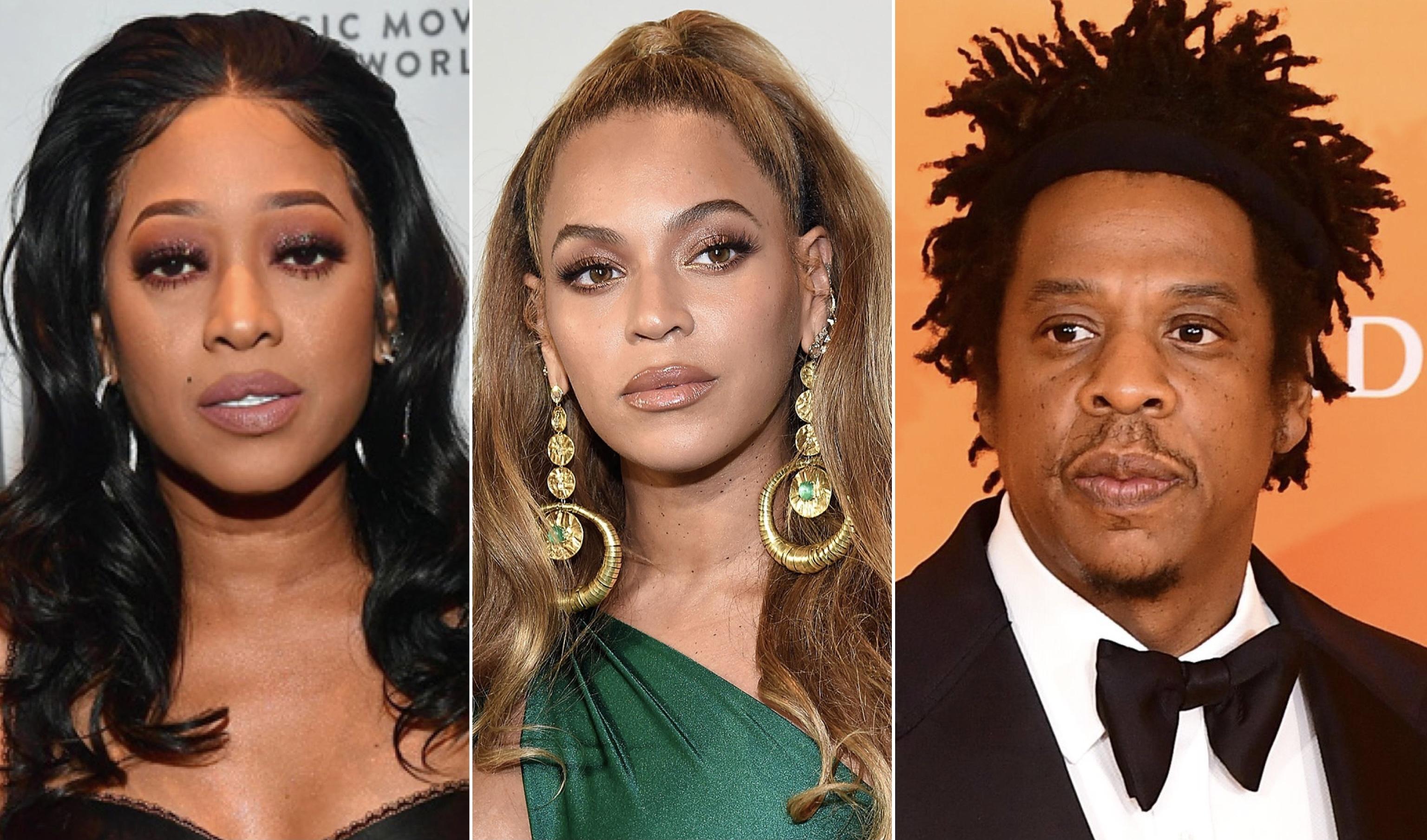 Trina, JAY-Z, Beyonce