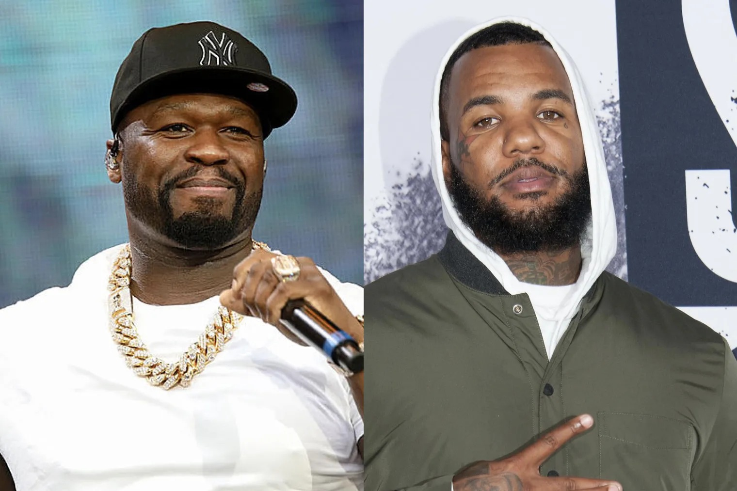 ALT TEXT (50 Cent and The Game)