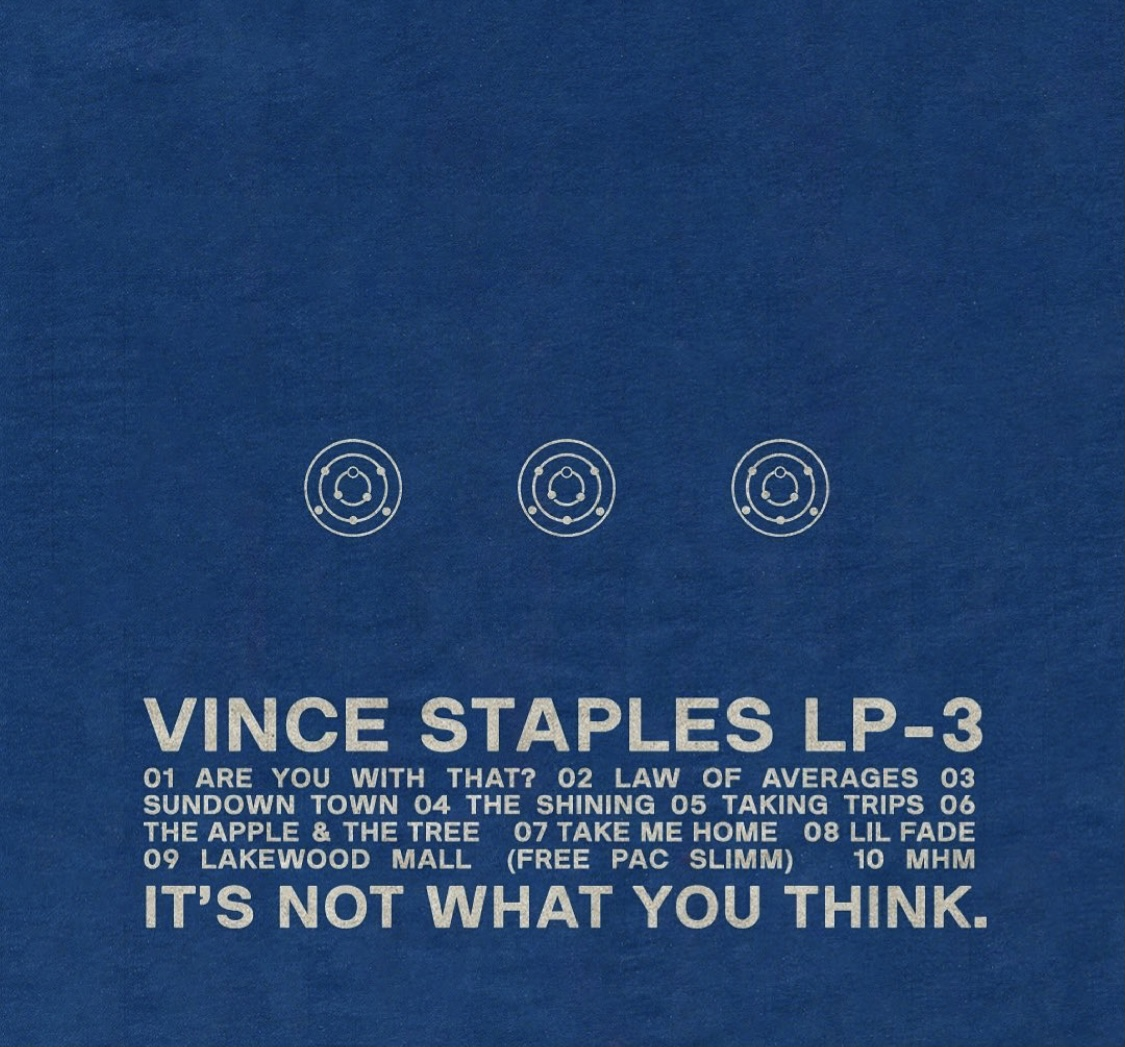 Vince Staples album cover