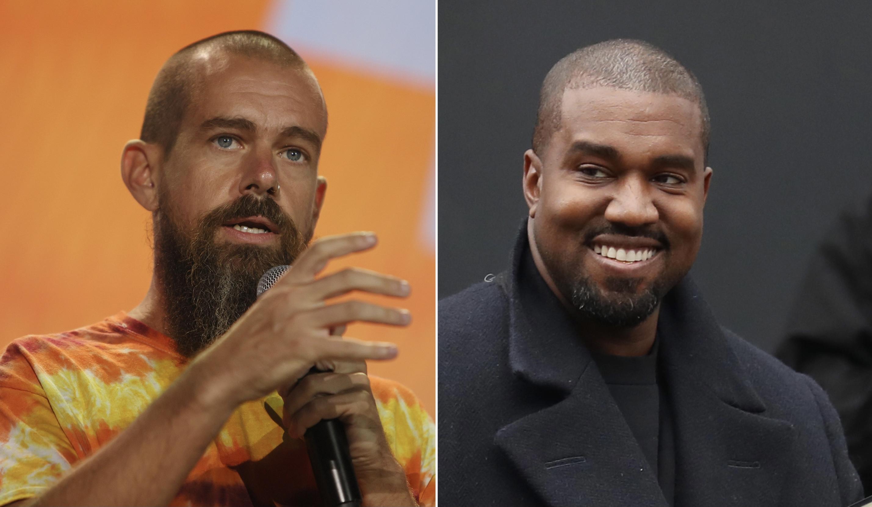Jack Dorsey, Kanye West