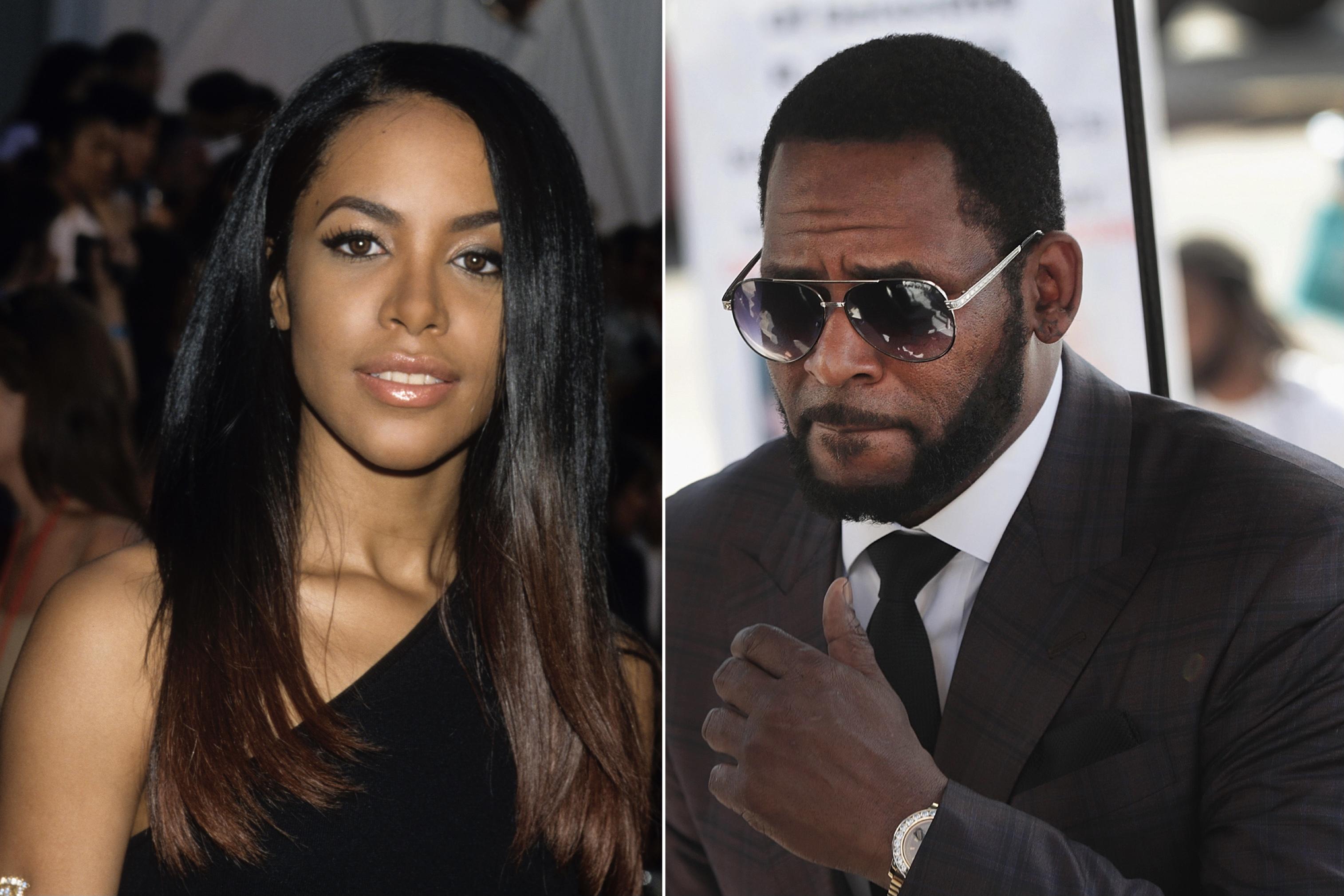 R.Kelly, Aaliyah