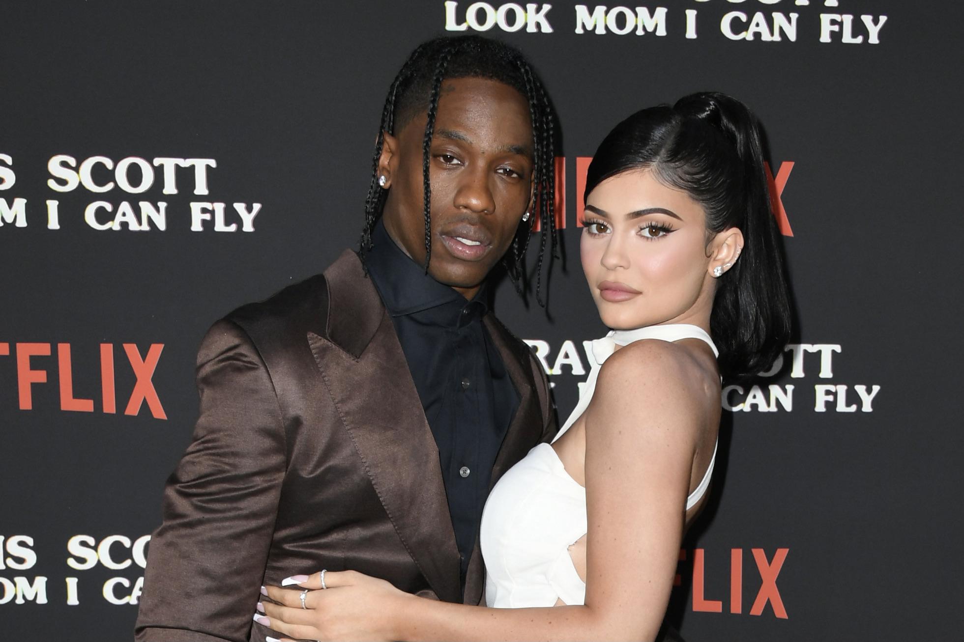 Travis Scott and Kylie Jenner